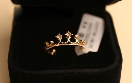 Princess Crown  Ring by DaintyWonderland on Etsy, $8.00