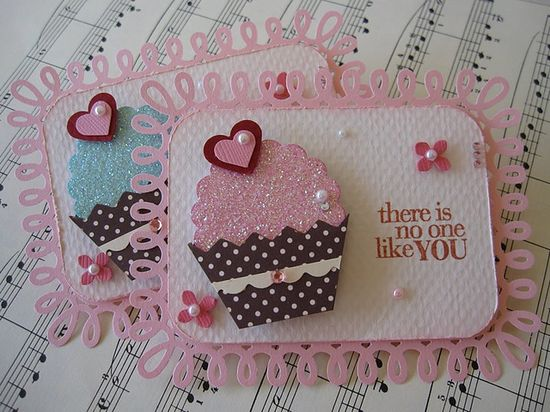 Glittery Cupcake Embellishments by vsroses.com, via Flickr