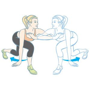 Alternating Capoeira Reverse Lunge: Do as many as you can in one minute, then move on to the next exercise in THIS cardio weightlifting workout:  www.womenshealthm...