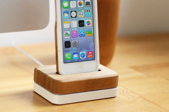 Grove's New iPhone Dock - Design Milk