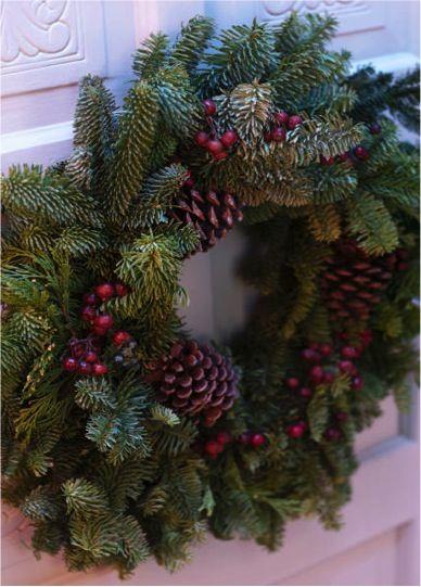 Tip to make FREE DIY Fresh Christmas Wreaths and Garlands! via TheFrugalGirls.com #Christmas