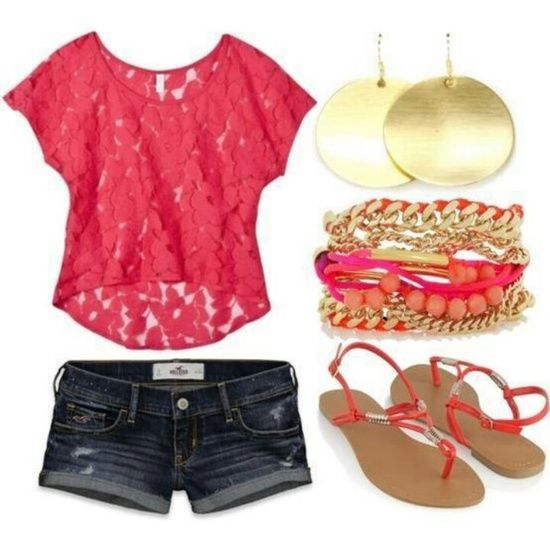 Love summer #summer outfits #clothes for summer #summer clothes style
