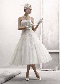 i *heart* short wedding dresses!