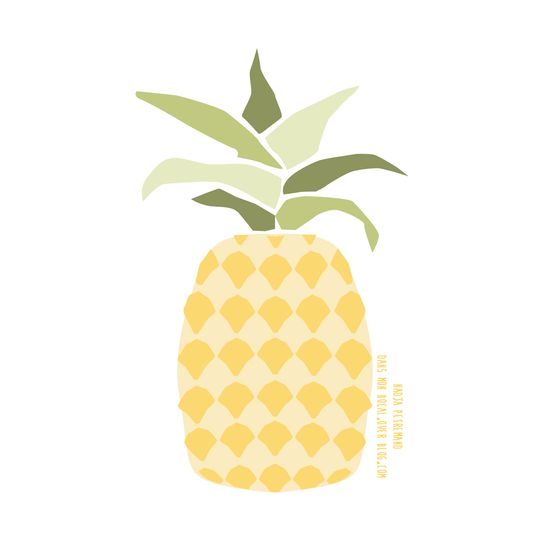illustration ananas
