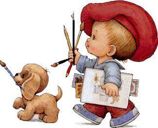 Imagens das Crianças