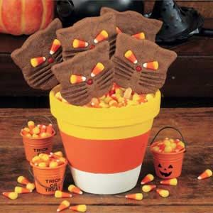 candy corn pot