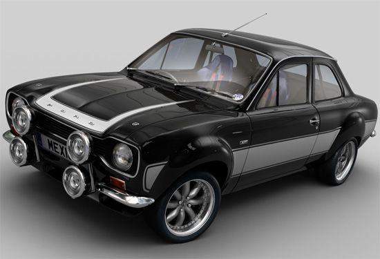 1972 Ford MK1 Escort Mexico
