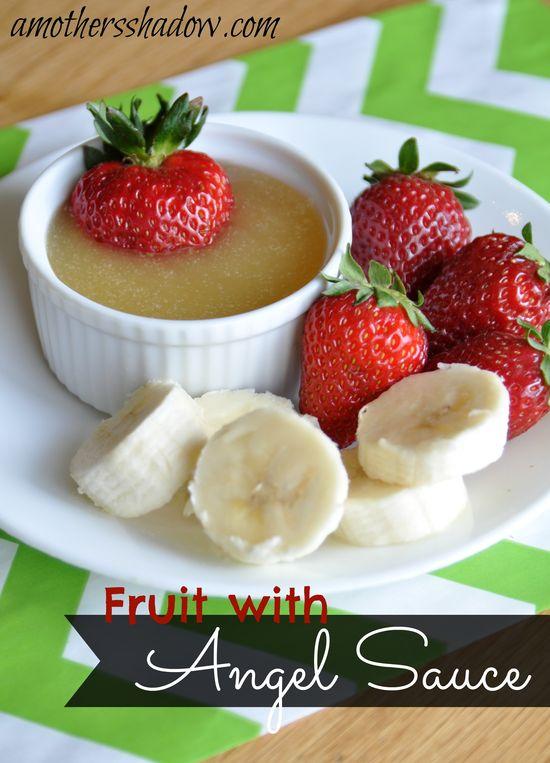 Delicious fruit dip on MyRecipeMagic.com #dip #recipe