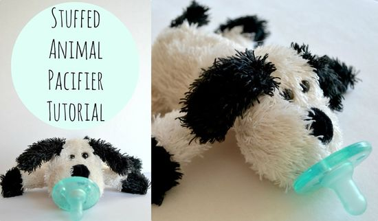 stuffed animal pacifier