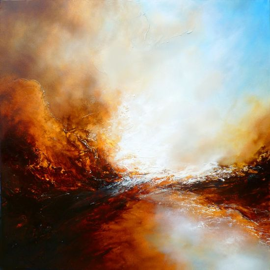 "Saatchi Online Artist: Simon Kenny; Oil, 2012, Painting ""The Ages of Avalon"""