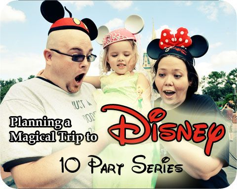 10 Disney Planning Series. Fantastic way to familiarize yourself with all the magical options available to you when you visit Disney!