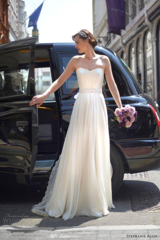 stephanie allin 2014 bridal margot strapless wedding dress