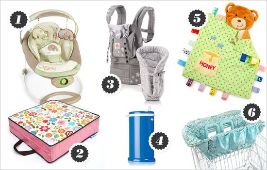 Baby product must-haves