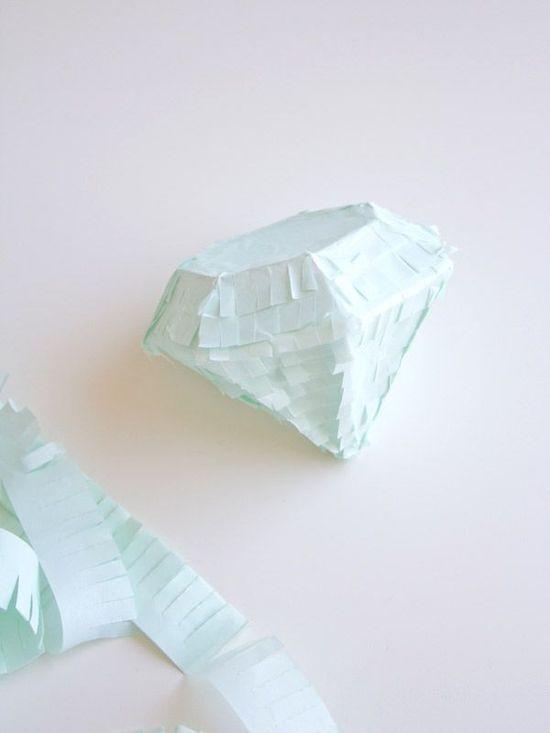 DIY Gem Piñatas | Lovely Indeed