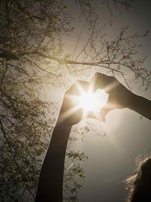heart sunshine