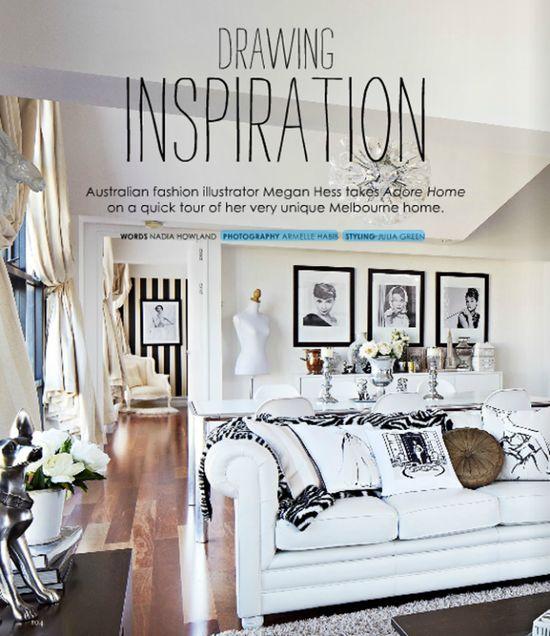 Megan Hess home #interiors #decor #art #arhitektura+ (4)