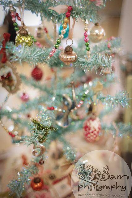 blue vintage christmas!