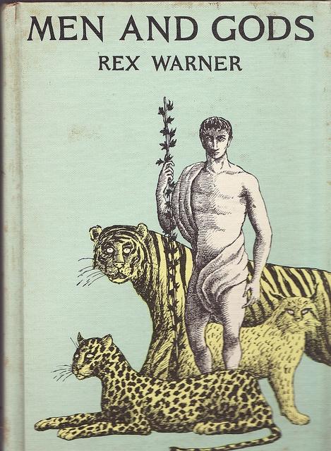 men and gods by rex warner, cover illustration by edward gorey