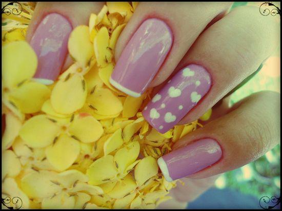 HEART  #nail #nails #nailart