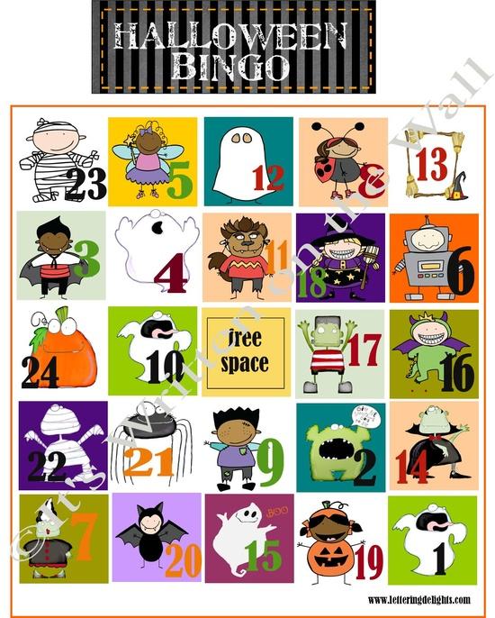 FREE Halloween Bingo PLUS 22 Fun Halloween Games, Treats and Ideas for your Halloween Party
