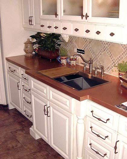 20 Best Kitchen Refinishing Images On Pinterest | Copper Countertops, Kitchen  Countertops And Kitchen Ideas