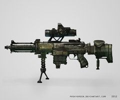 LMG Concept 3D Art by ProxyGreen