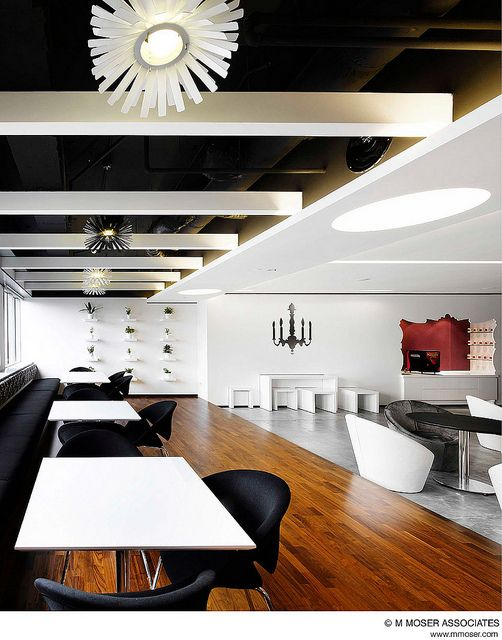 Creative office design by M Moser Associates by M Moser Associates