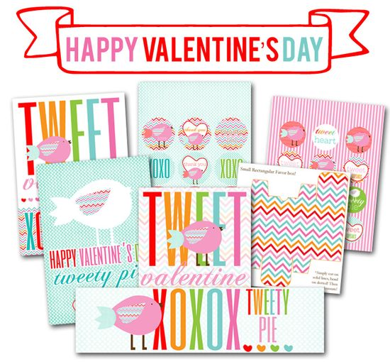 CUTE Valentine's Day FREE Printables