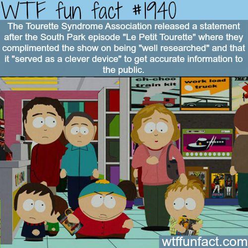 The Tourette Syndrome Association-WTF fun facts