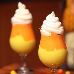 Candy Corn Pudding..Oh dear I MUST make this for Halloween. Who's with me??