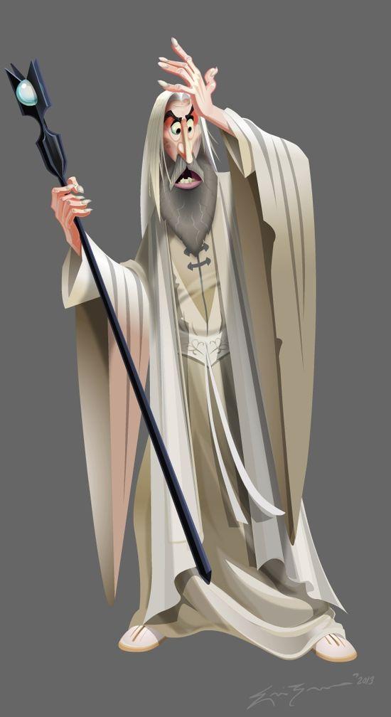 Eric Zermeno: Saruman The White
