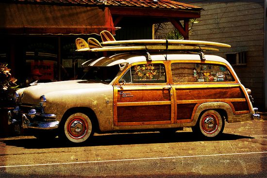 Woody Surf Wagon