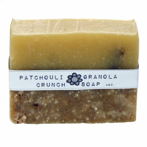 Homemade Soap Recipe - DIY Natural Handmade Patchouli Soap Recipe with Printable Cigar Band Labels