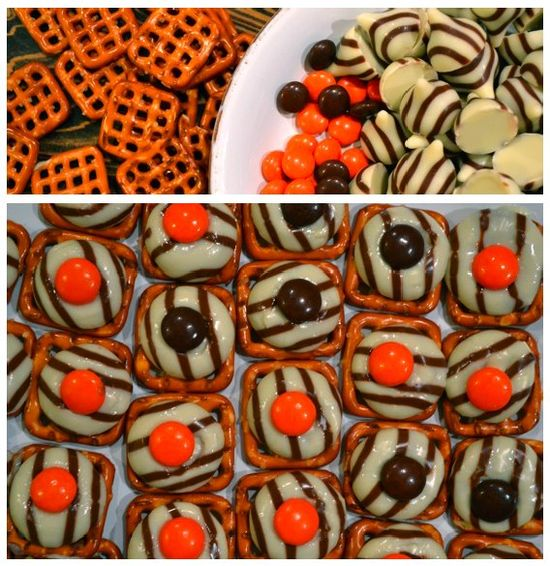 animal print themed party snacks!