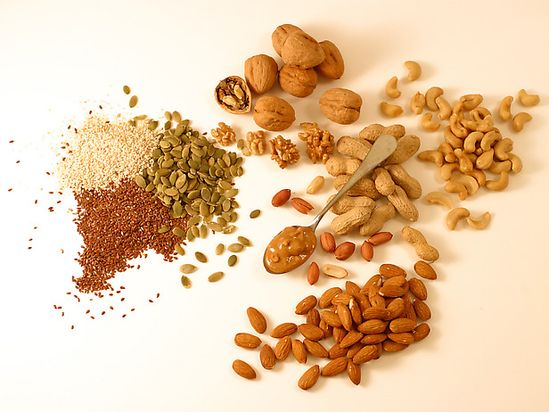 The Health Benefits of Nuts and Seeds from FoodNetwork.com