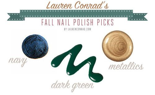 favorite nail polish colors for fall