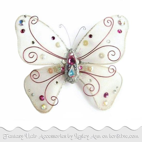 Fantasy Hair Accessories from Designs by Lesley Ann