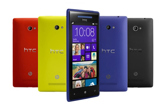 HTC - Windows Phone 8S and 8X
