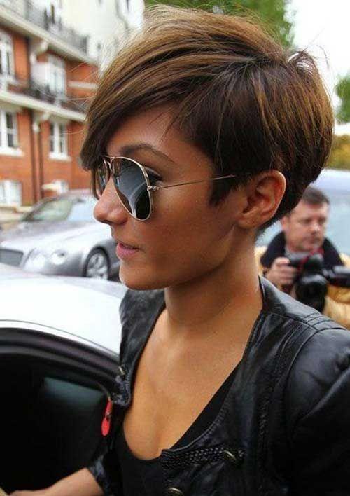 Celebrity Short Hair 2013-Frankie Sandford