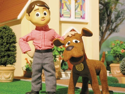 I remember watching Davey and Goliath in the afternoons.