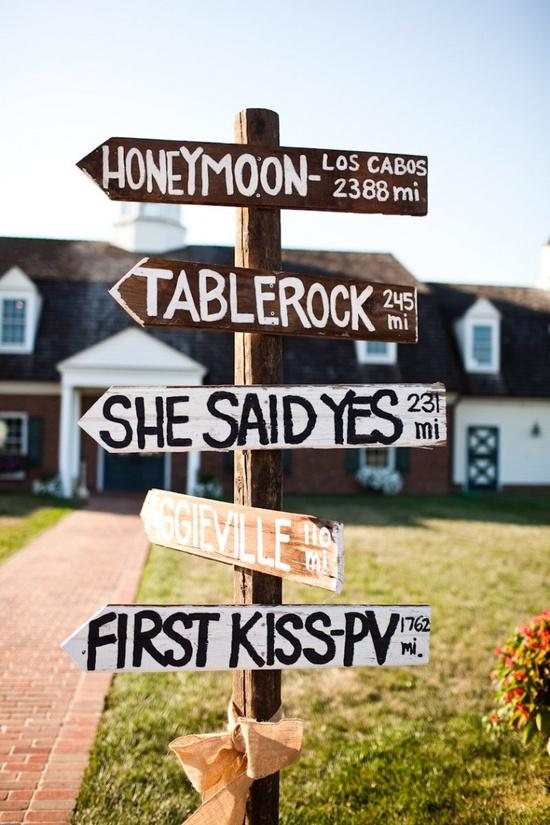 creative outside wedding idea