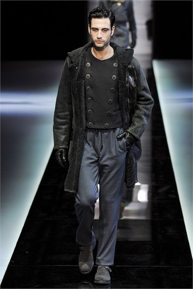 Giorgio Armani - Men Fashion Fall Winter 2013-14 - Milan