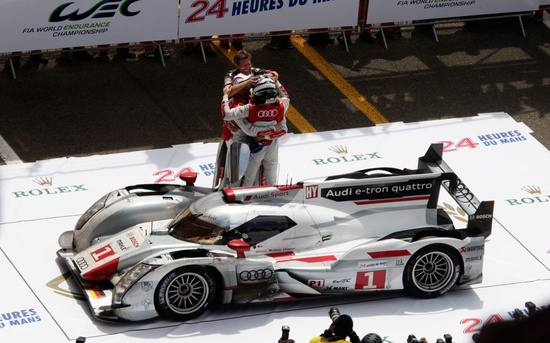 Audi R18 Hybrid - 2012 Le Mans Winners Circle