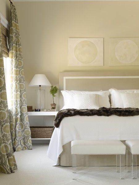 elegant bedroom with a timeless headboard design