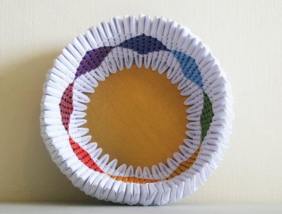 bowl (made from recycled paper!), ruti's roots (etsy)