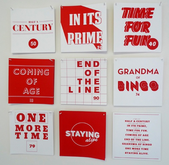 Charlie Borley uses bingo as her inspiration for a series of graphic works.