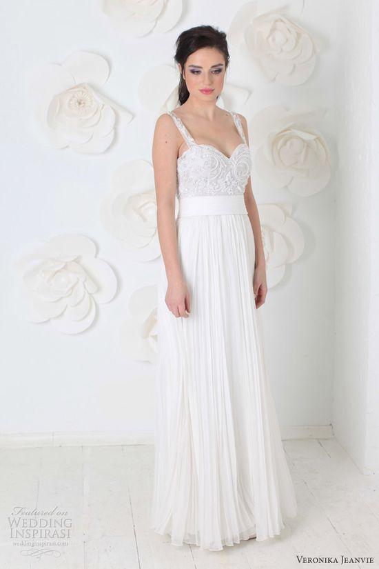 Veronika Jeanvie 2014 Bridal Collection
