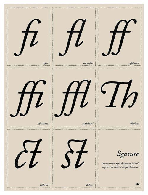 Typographic poster design by Tom Davie