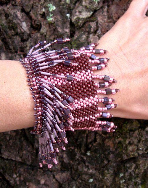 #beadwork  Cuff bracelet- tribal bracelet-boho bracelet- bohemian bracelet- cool bracelet- indie bracelet- mystical bracelet- boho jewelry