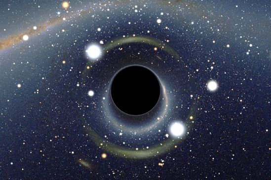 The Strangest Black Hole in the Universe